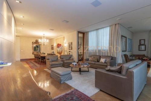 Apartamento No Lourdes Co M 4 Quartos E 5 Vagas De Garagem !!! - Op2753