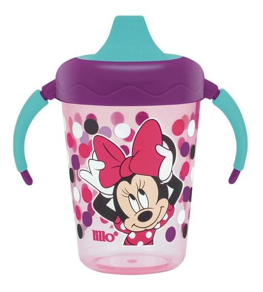 Caneca Lillo Disney Minnie 207 Ml Antivazamento Fret Grátis!