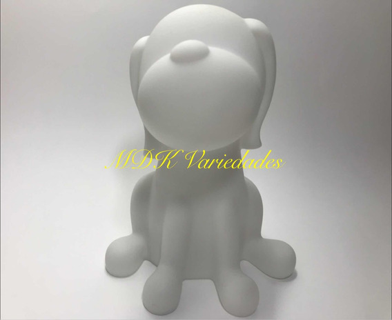 Luminária / Abajur Infantil Cachorro Led Colorida
