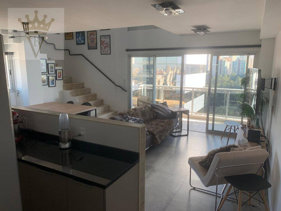 Apartamento Duplex Com 1 Suite À Venda, 98 M² Por R$ 1.400.000 - Chácara Santo Antônio - São Paulo/sp - Ad0023