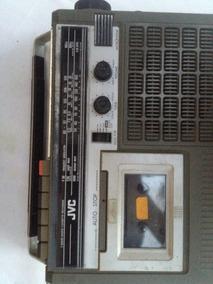 Rádio Estéreo 3 Band Gravador Casset Jvc Rc 204jw Antigus
