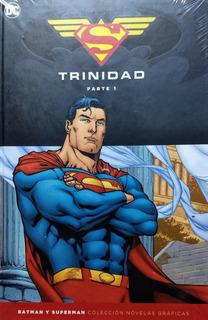 Coleccion Batman Y Superman - Trinidad Completa 4 Libros