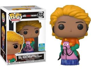 Funko Pop Raj Koothrappali As Aquaman 832 The Big Bag Theory