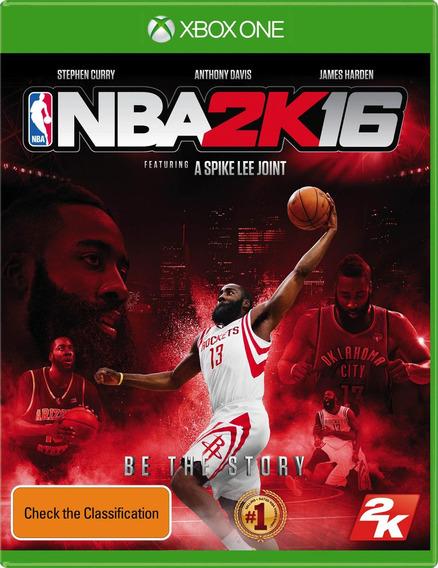 Jogo Lacrado Novo Esporte Basquete Nba 2k16 Para Xbox One