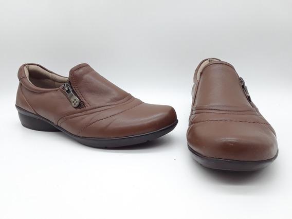 Naturalizer Clarissa Zapatos Comfort De Piel Marron 25 Mex