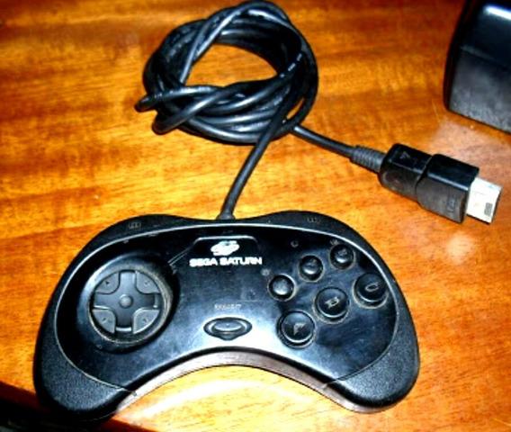Controle Sega Saturn Original Testado Sem Folga