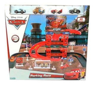 Estacionamiento Cars Parking Race Garage Original Ditoys