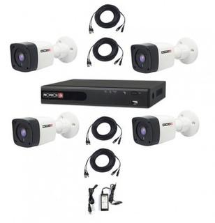 Kit De Video Vigilancia Provision-isr Pak720px4 - Negro, C