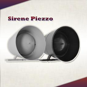 Sirene Piezzo Gcp Para Alarme Residencial E Cerca Elétrica