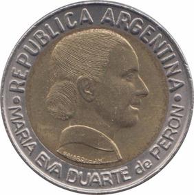 Argentina 1 Peso 1997 Voto Femenino - Evita - Sin Circ.
