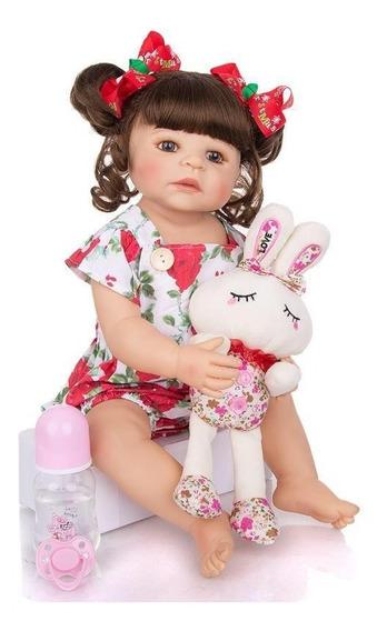 Boneca Bebe Reborn Menina Barata Realista