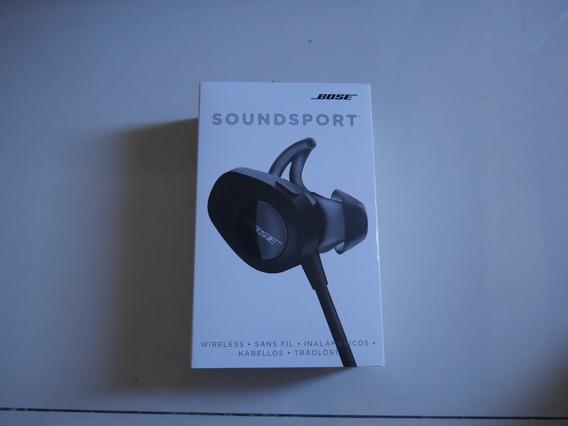 Fone Bose Sport Com Noise Canceling Novo Na Caixa