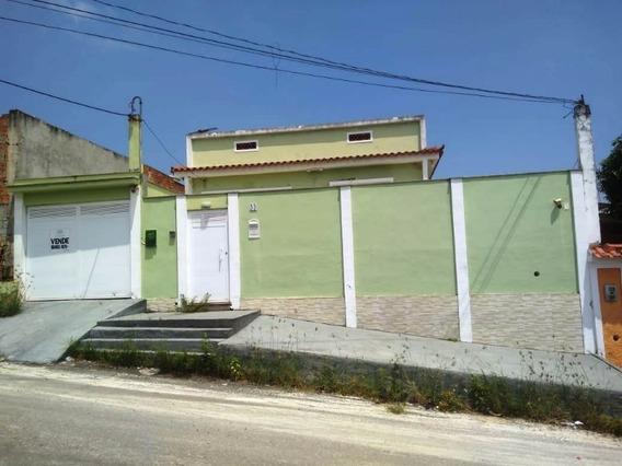 Posse/n.iguaçu. Casa 2 Quartos, 2 Banheiros, 3 Vg. Garagem E Terreno Amplo C/ 360m². - Ca00652 - 34586453