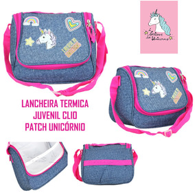 6eb13a461 Lancheira Termica Infantil Unicornio Cg9154 C/ Inmetro