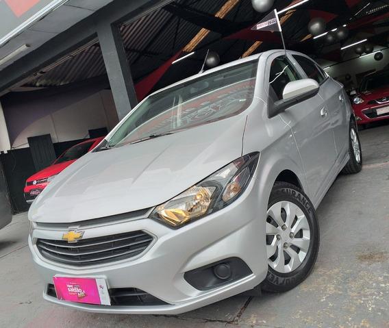 Chevrolet Onix 1.0 Lt 2019 Prata