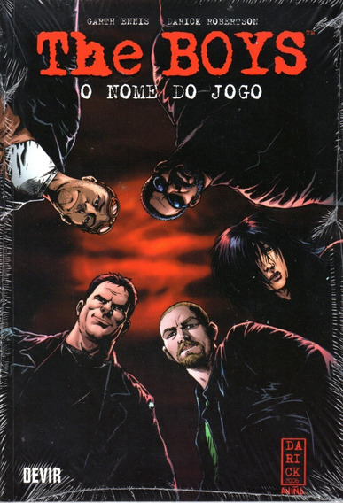 The Boys 1 - O Nome Do Jogo - Devir 01 - Bonellihq Cx185 Q20