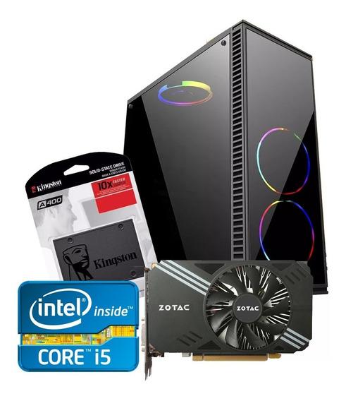 Pc Gamer Core I5 / 16gb/ Ssd / Gtx 1060 6gb Promoção