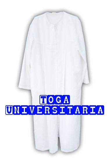 Togas Y Birretes En Color Blanco