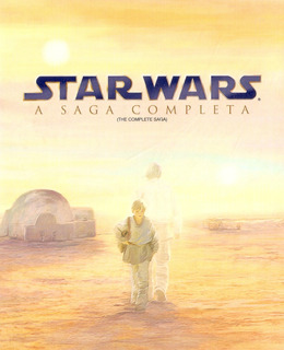 Box Blu-ray Star Wars - A Saga Completa - Semi Novo***