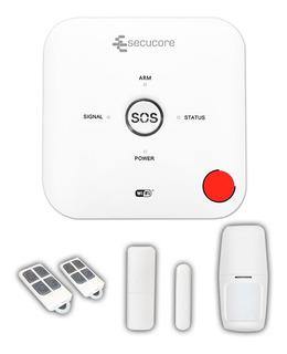 Kit Alarma Wifi Gsm Inalambrica Bateria App Casa Negocio Sms