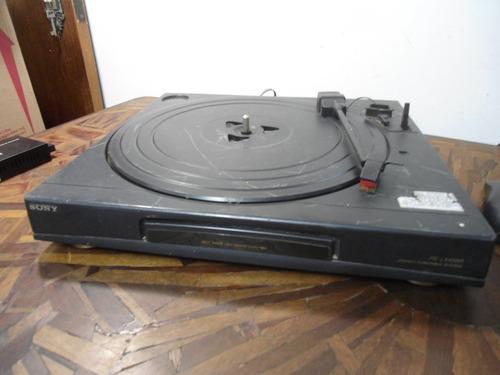 Imagem 1 de 6 de Sucata Toca Discos Sony Ps-lx45br - No Estado