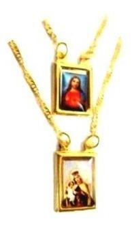 Escapulário Nossa Senhora Do Carmo E Jesus