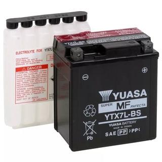Bateria Yuasa Ytx7lbs Twister Cb300 Falcon Original + Brinde
