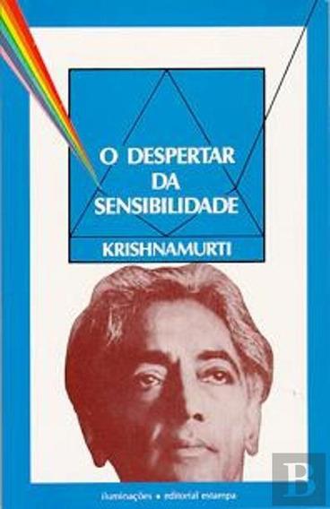 O Despertar Da Sensibilidade Krishnamurti (pocket) (5781)