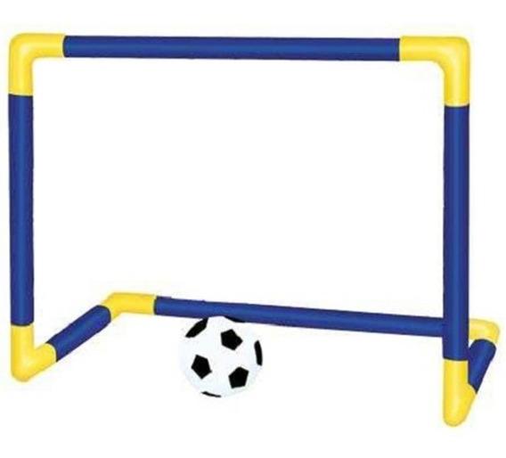 Chute A Gol Trave Rede Bola - Brinquedos Educativo Futebol