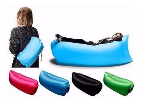 Saco De Dormir Inflável - Sofá Preguiçoso - Acampamento