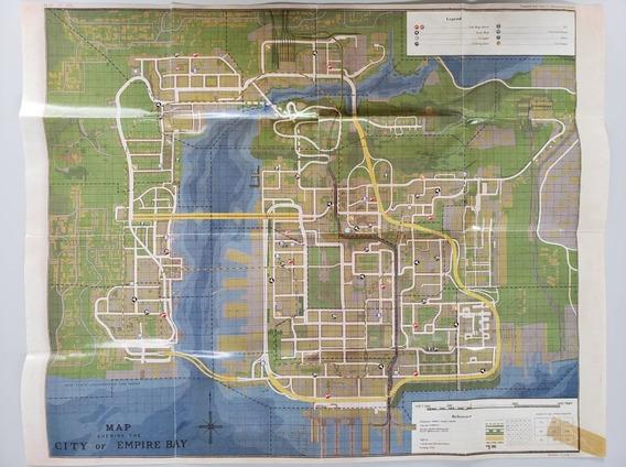 Mafia 2 Mapa