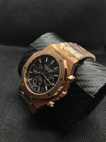 Relógio Audemar S Pig Ue T Royal O A K Ouro Rose (1ª Linha)