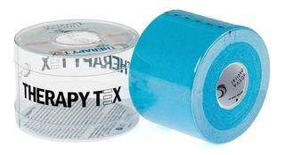 Bandagem Elástica Terapêutica Therapy Tex Azul