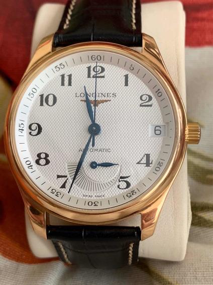 Relógio Longines De Ouro Puro!