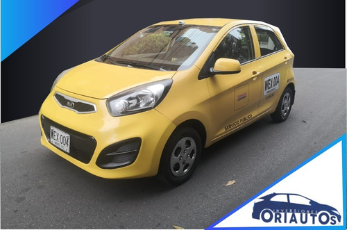 Imagen 1 de 14 de Kia Picanto Eco Taxi 1.0 Cc