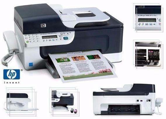 Impressora Hp Multi All In One Officejet J4660 Nova Na Caixa
