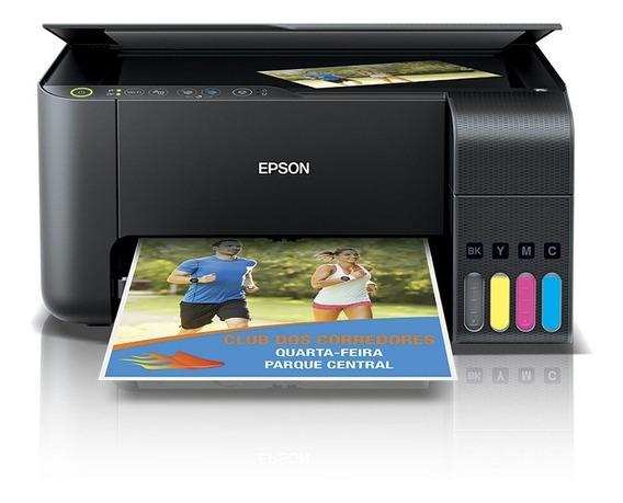 Impressora Multifuncional Epson L3110 Bulkink Tinta Original