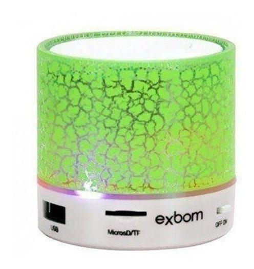 Caixa De Som Bluetooth Portátil Cartão Sd Usb Fm Cs-a12bt 5w
