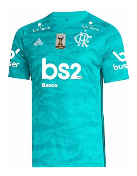 Camisa Flamengo Gk 2019/20 | Patch Campeão Brasileiro 2019