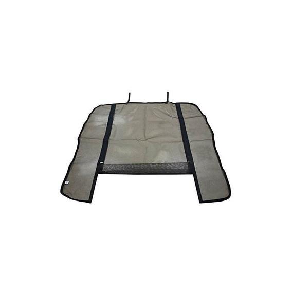 Rim Flyscreen [rear Gate] [double Zipper] Nv350 Karan Van [w