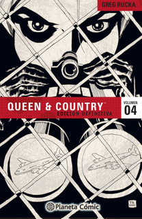 Queen And Country Nº 04/04 De Greg Rucka - Comics Argentica