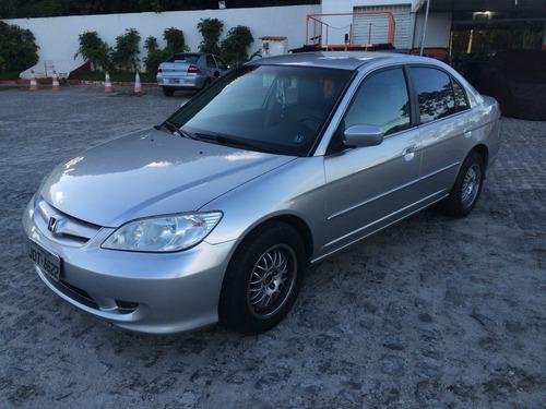 Honda Civic 1.7 Lxl Aut. 4p Bancos De Couro Rodas Esportivas