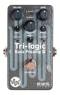 Pedal Xotic Ews Tri-logic Trilogic Bass Preamp3 Nuevo Gtia
