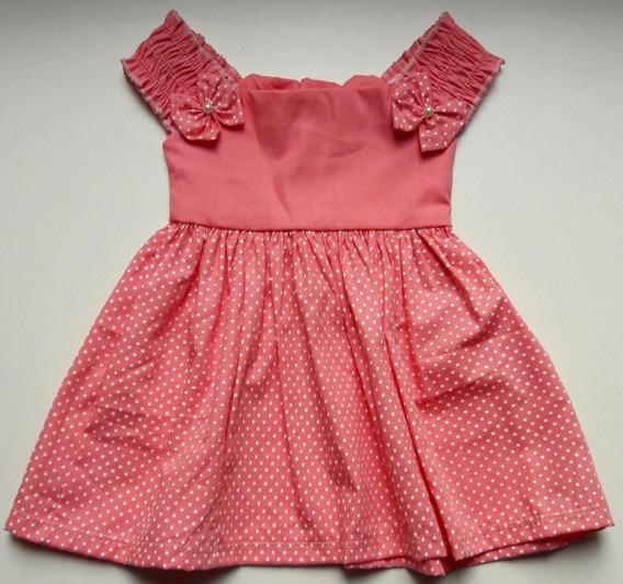 5 Peças Vestido Aniversário Bebê Menina Infantil Revenda