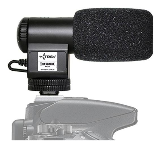 Microfone Direcional Shotgun Compact Canon Eos Rebel T6i (w)