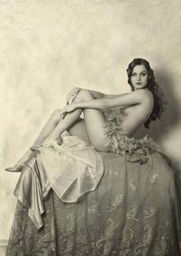 Nu Artístico Antigo Alice Wilkie 1925 Postal Reprodução 2017