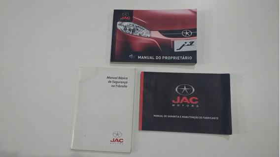 Manual Do Proprietário Jac J3 2012.