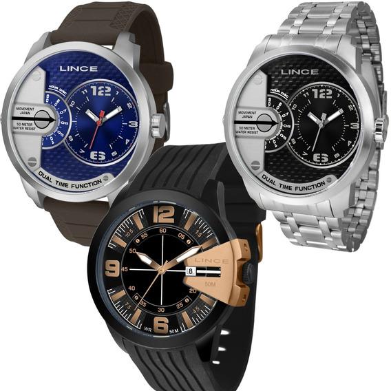 Relógios Lince Masculino Esportivo Grande Prova D