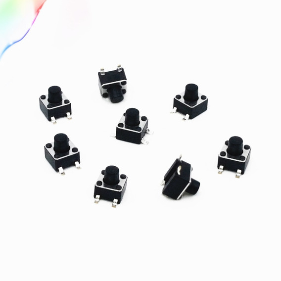 10pz Micro Boton Push Swith Interruptor Arduino 6*6*4.5mm