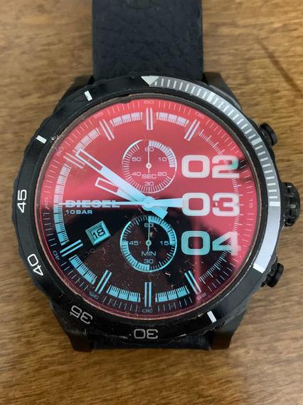 Relógio Diesel Dz4311 Masculino Preto Com Azul